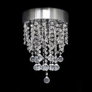 Lustre de Cristal Redondo 25x25x30cm - HAMBURGO-25