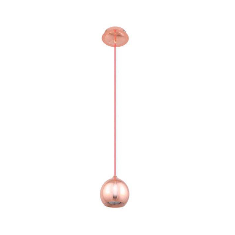 Pendente Pin Bella Cobre Ø13cm para 1 Lâmpada GU10