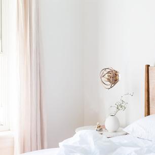 Arandela Ninho Ouro Rose com LED Integrado 12w