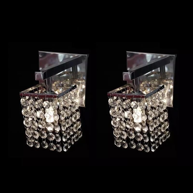 Kit 2 Arandela Cristal Area Interna - JP/ARSAGA/11