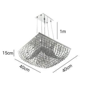 Lustre Pendente para 8 Lâmpadas G9 - KYOTO40-PEND