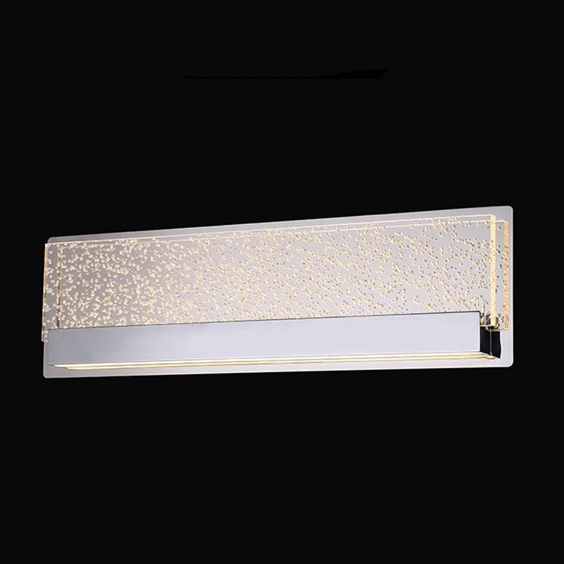 Arandela de Cristal Bolha Camarim LED 3000k 22W