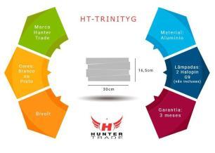 Arandela Trinity Grande para 2 G9 - HT-TRINITYG