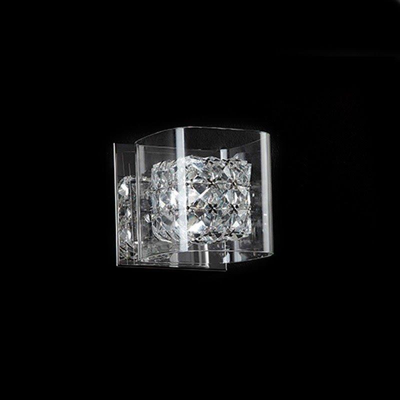 Arandela Ravel Transparente para 1*G9 - HO027