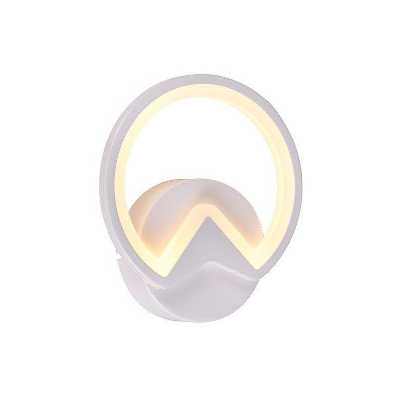 Arandela Metal Branca LED 3000K 12W - DCB01102