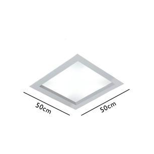 Embutido Quad Magnum Branco Texturizado para 4 E27