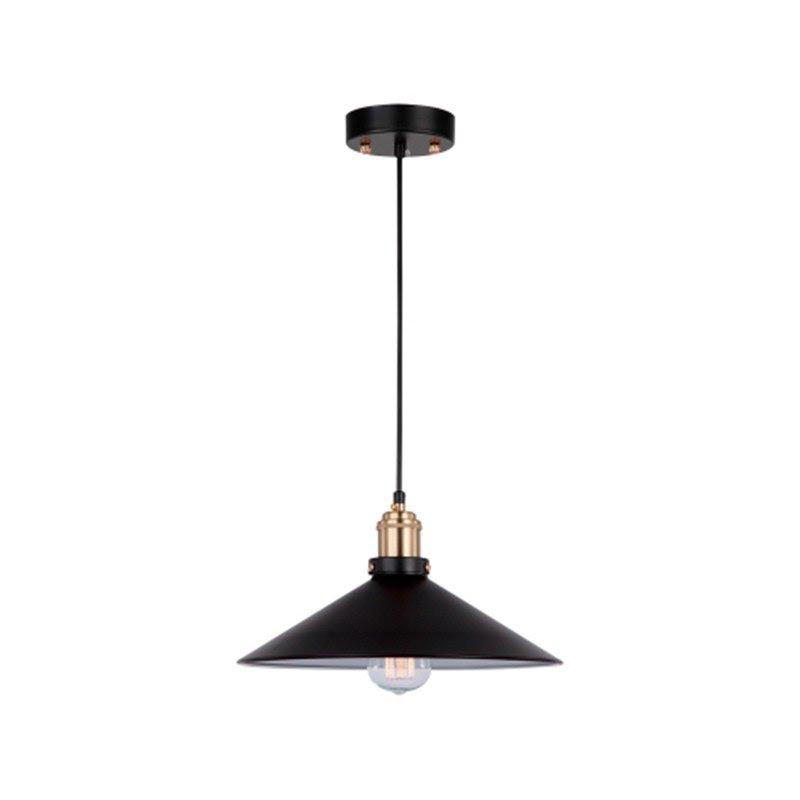 Pendente Factory Preto/Bronze para 1*E27 - OP041