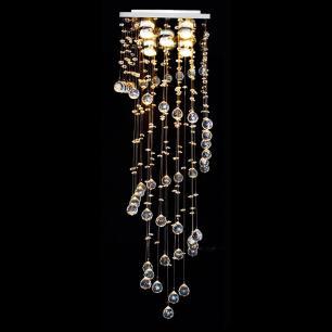 Lustre de Cristal Bola Caracol 38cm - Hokkaido-38