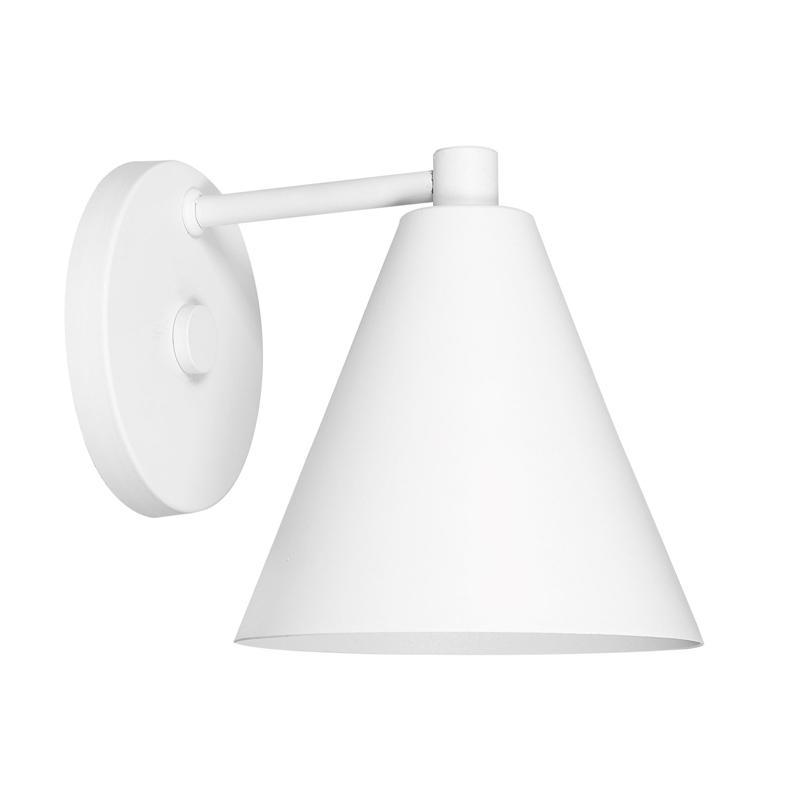 Arandela Cone 736 Branco para 1 Lâmpada E27 -DL736