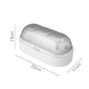 Arandela Tartaruga Vega Branco para 1*E27 - 2001.1