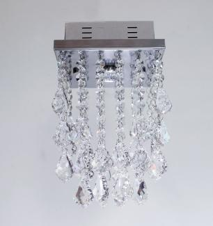 Lustre De Cristal Bacalhau Quadrado - JP IBARAK 17