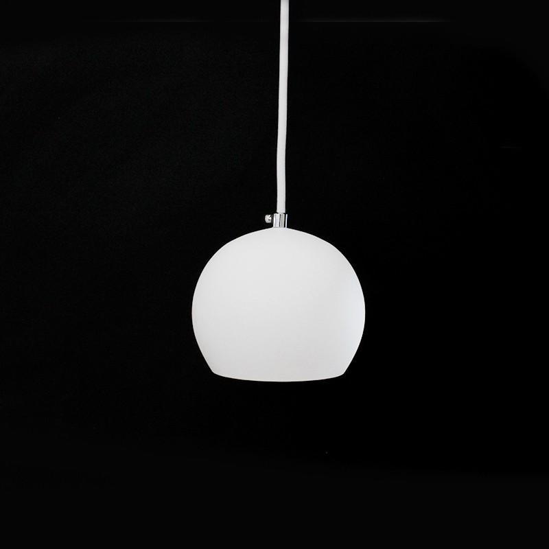 Pendente Branco para 1 Lâmpada E27 - HTPENDBRPQ