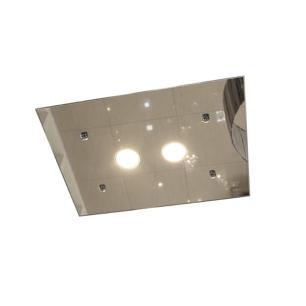 Plafon Retangular Clean Espelhado 40x30cm GU10