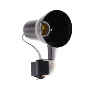 Spot Trilho Eletrificado Ibiza Preto para 1*E-27
