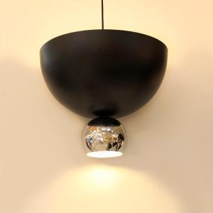 Pendente Bowl para 3 Lâmpadas E27 e 1 G9