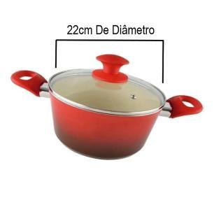 Caçarola ceramic class 22cm 4,5mm class home