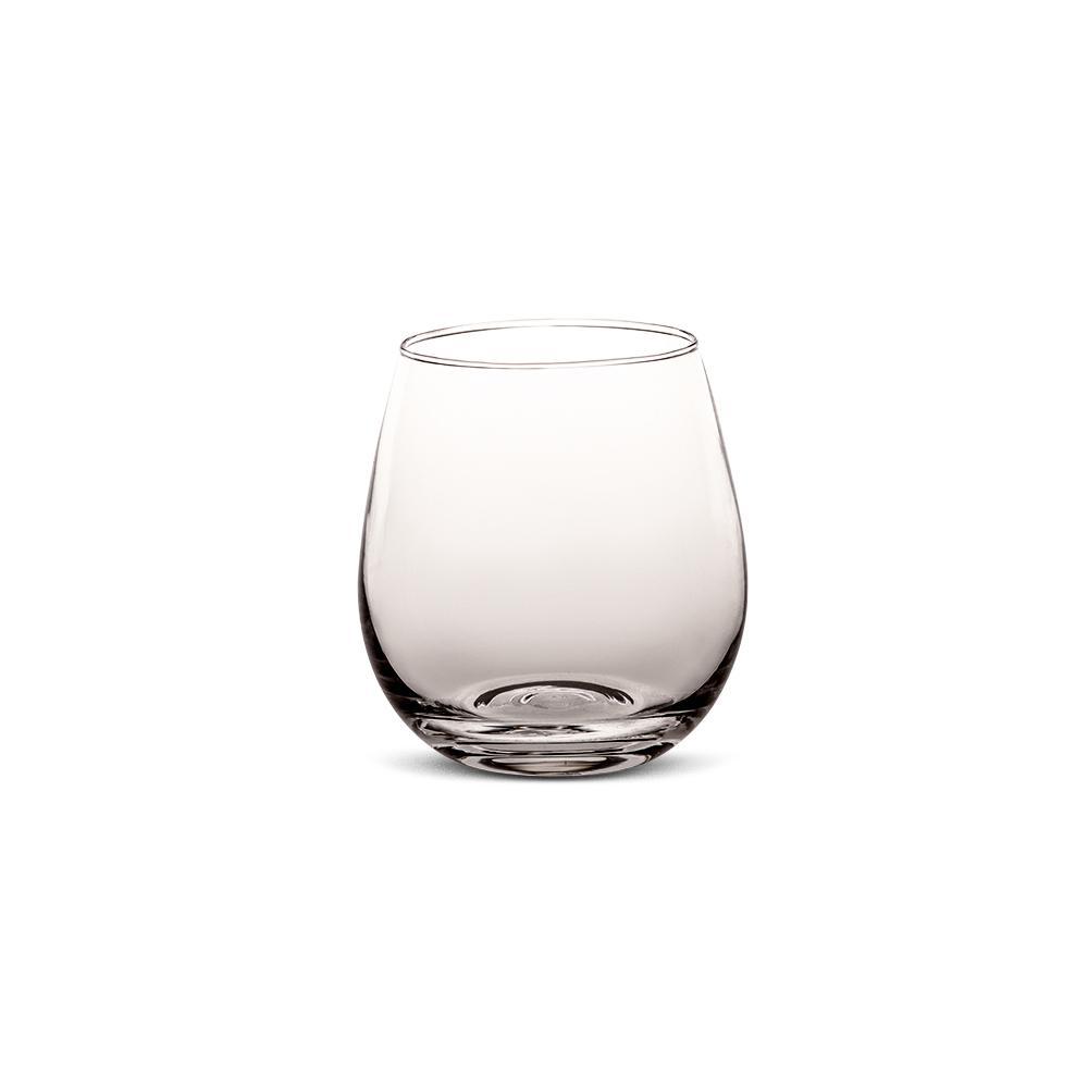 Conjunto de copos com 6 pçs Viena Solid Color 450ml Cinza