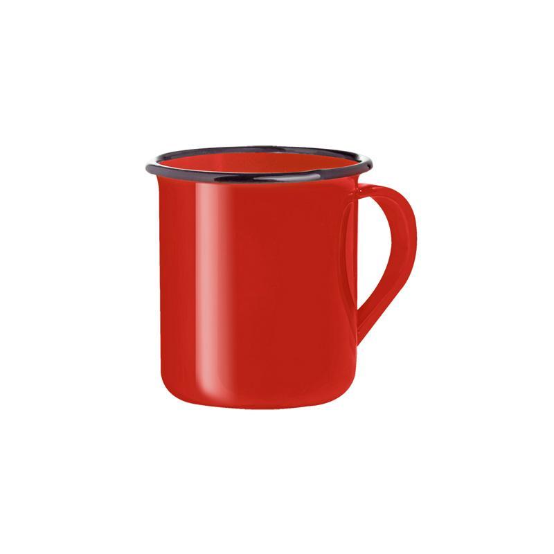 Caneca esmaltada vermelha 150 ml - Zein