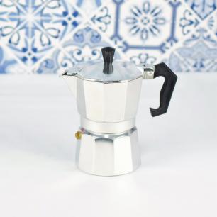Cafeteira Italiana 3 xícaras alumínio - Clink