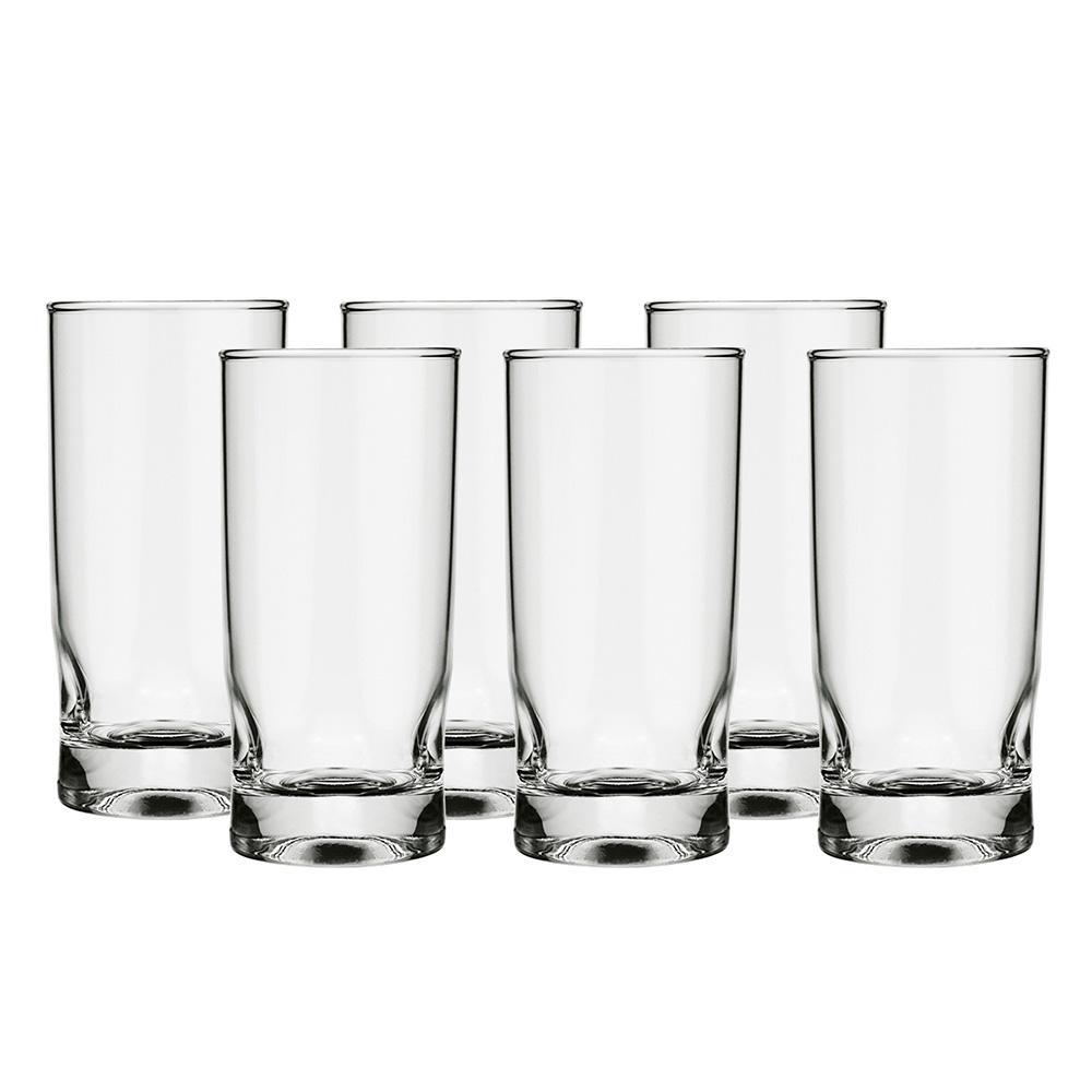 Conjunto de copos com 6 peças amassadinho 310ml - Nadir