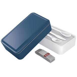 Marmita lunch box fit azul - Euro Home
