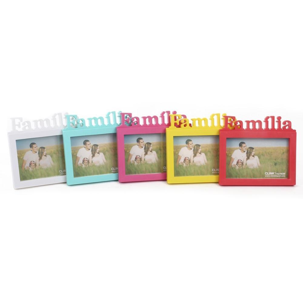 Porta-retrato Família 15x20cm Cores variadas- Clink