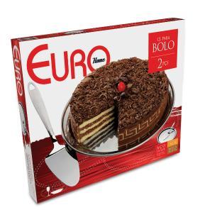 Conjunto para bolo 2 peças - Euro Home