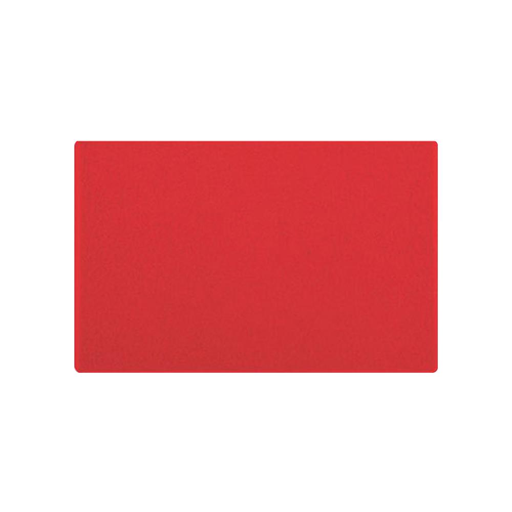 Tapete vinil kap vermelho 40x60cm antiderrapante - Kapazi