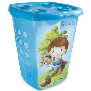 cesto infantil trio menino 38 litros - Plasútil