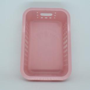 Caixa organizadora baixa M Rosa quartz - OU