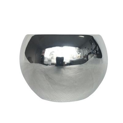 Vaso Cerâmica Prata 6cm