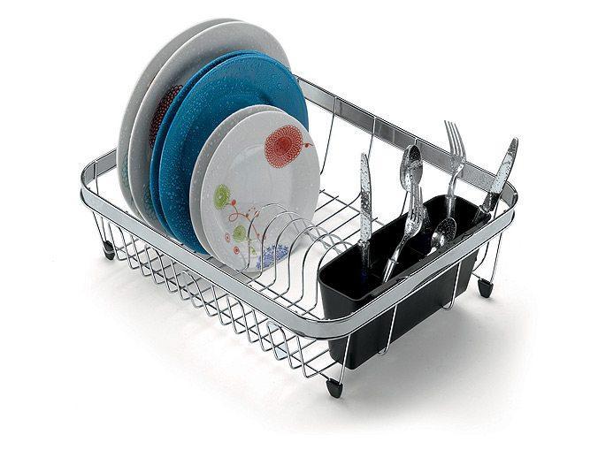 Escorredor 14  pratos com porta talheres 1279 - Arthi