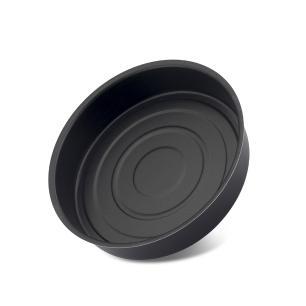 Assadeira redonda alta antiaderente N1 black