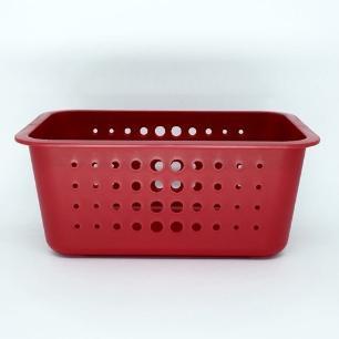 Caixa organizadora M Vermelha - OU