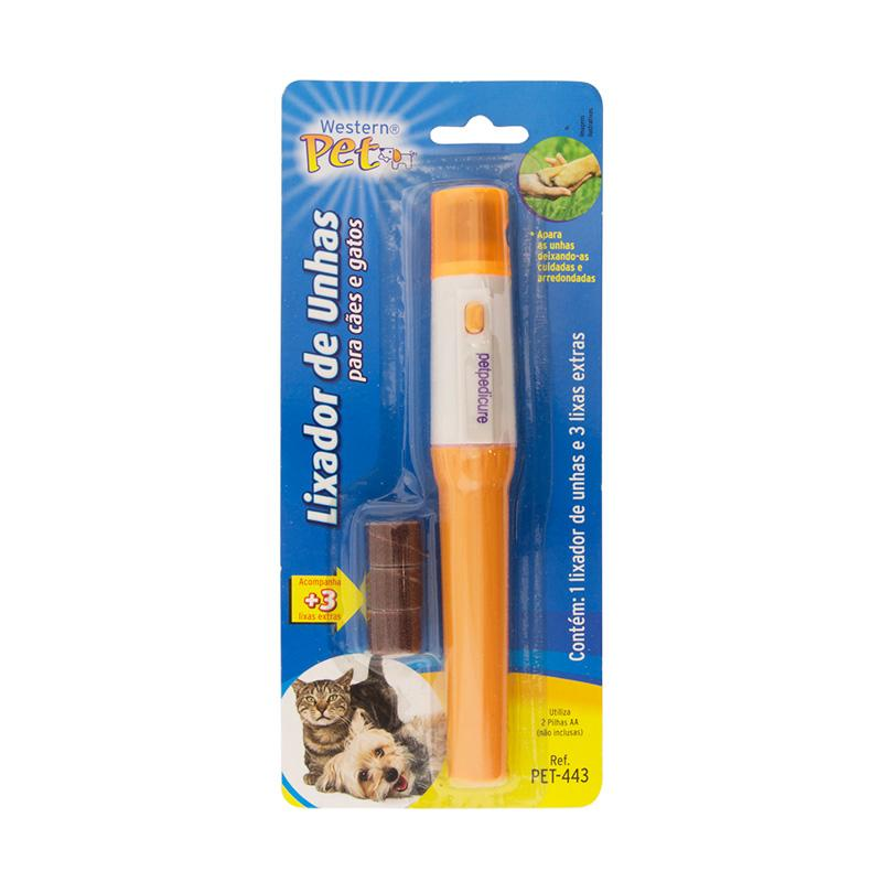 Lixador de unhas para cães e gatos - Pets Western