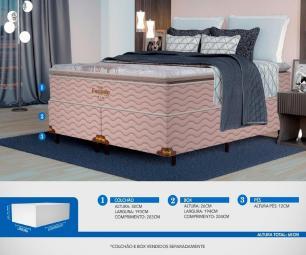Colchão King Mola Probel Excede Premium (193x203x30cm)