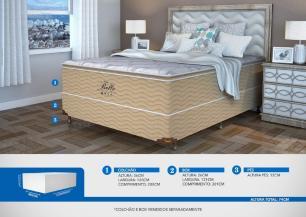 Colchão Casal  Mola Probel Belle Confort Luxo (120x200x36cm)
