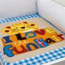 Cobertor Para Berço Baby Soft Gatinho