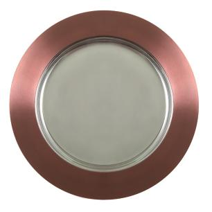 Sousplat Inox Bronze