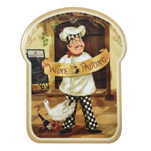 Descanso de Panela Decorrativo em Cerâmica Cucina Pairing