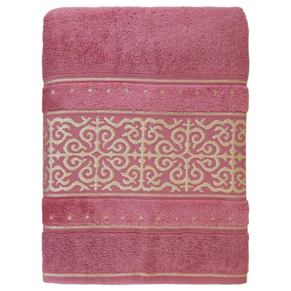 Toalha de Banho Gigante La Vie Rosa Glamour