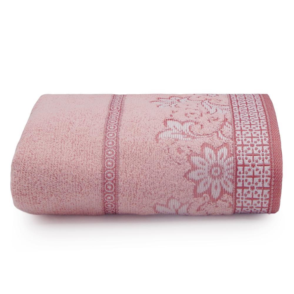 Toalha de Banho Di Fiori Rosa Quartzo