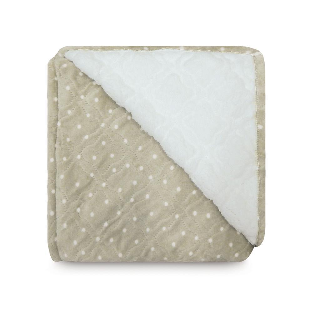 Cobertor Glamour Sherpa Queen Poá Fendi - Appel