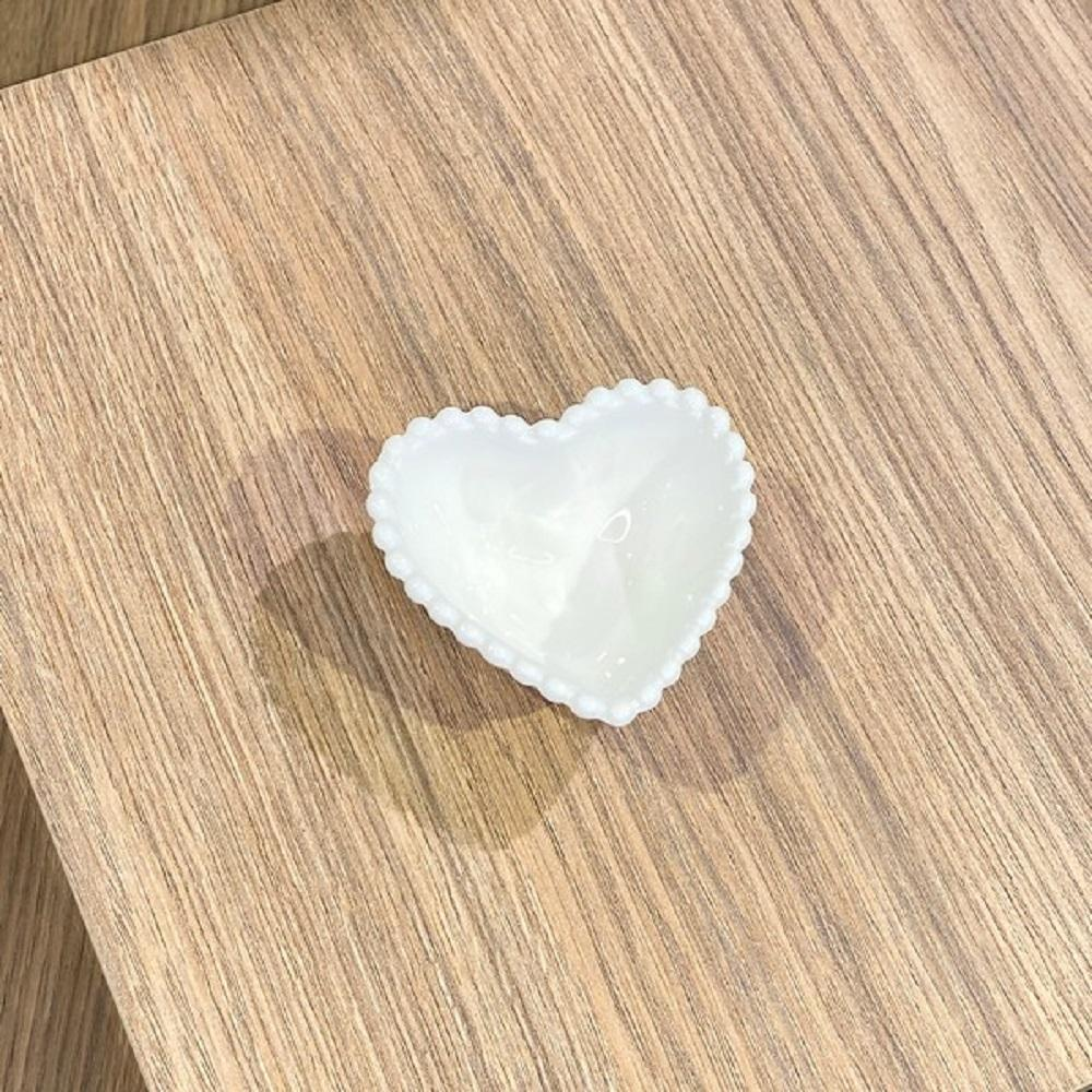 Mini Bowl Coração Cerâmica 7.5 x 7 x 3 cm