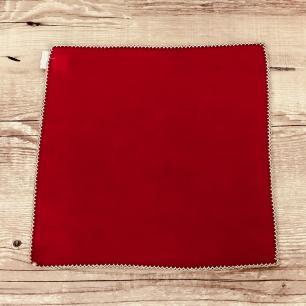 Jogo 4 Guardanapos Nero Vermelho 35 x 35cm