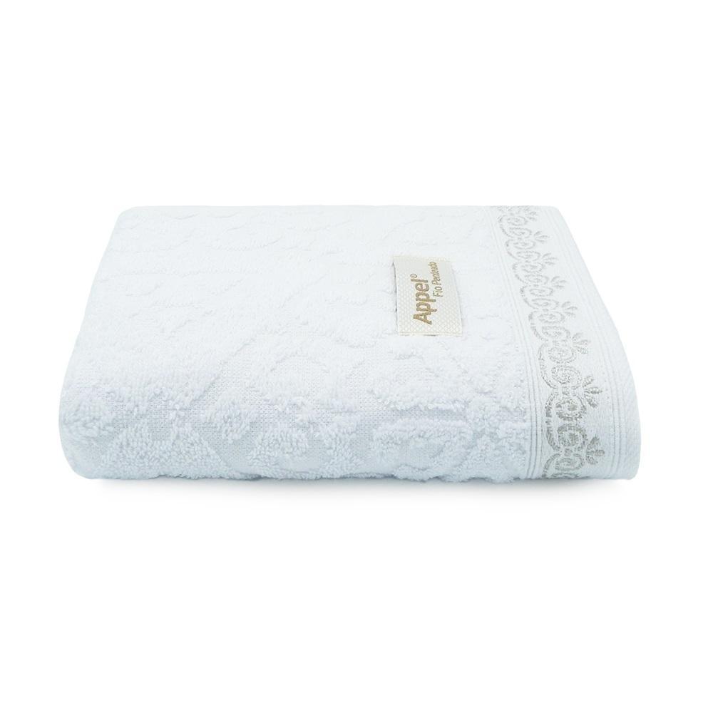 Toalha de Rosto Ornato Branca