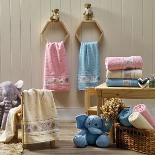 Toalha de Banho Soft Baby Azul Céu