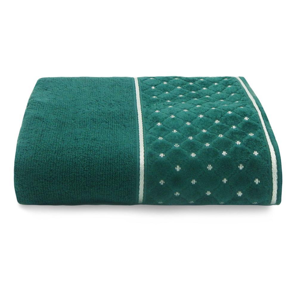Toalha de Banho Safira Verde Retrô