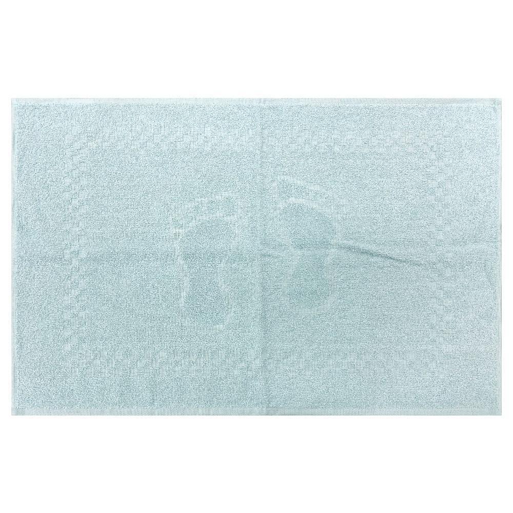 Toalha de Piso Pezinho Azul Polar