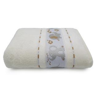 Toalha de Banho Soft Baby Pérola